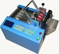 automatic Heat shrinkable tube cutting