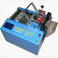 Automatic Teflon tube cutting