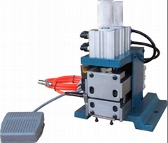 Flat Ribbon Cable Wire Stripping Cutting Machine Pneumatic Wire Stripper LM-3F