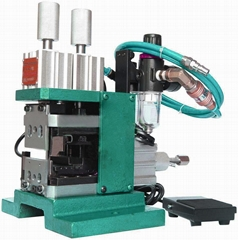 pneumatic multi-core wire peeling twisting machine 4FN