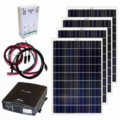 Hot Sale Solar Power System 8KW Off-grid Solar Power System for home use with Ch