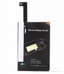 Imported Ti wireless charger charging receiver for note 4/note edge