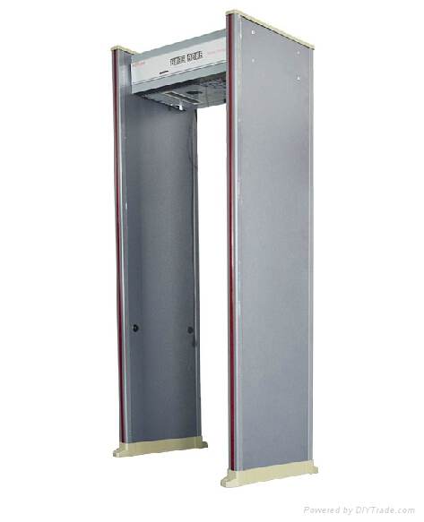Walkthrough Metal Detector Door Security Door Metal Detecting Gate Inspection En 2