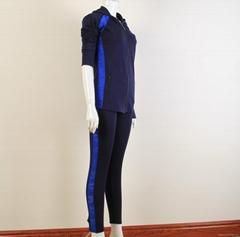 Wholesale Yoga Sweater Hooded Jacket Yoga Legings