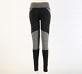 Black Stripes Yoga Fitness Pants
