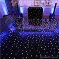 black panel with white lamps starlit dance floor 1