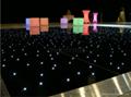 black panel with white lamps starlit dance floor 3