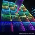 LED 3D mirror dance floor
