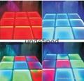 LED dyeing floor