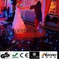 RGB video dance floor