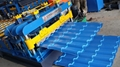 Steel Plate Glazed Roof Tile Making Machine/Steel Roof Roll Forming Mahine