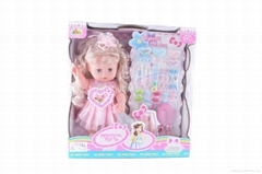 16 inch doll with comb h