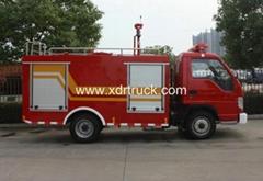 Foton 1.5ton Water Tanker Fire Fighting Truck