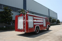 Dongfeng 153 8ton Water Fire Fighting Truck with Front Sprinkler
