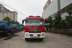 Dongfeng Tianjin Water Tank Fire Fighting Truck 8ton