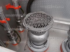 3.6ton Dongfeng water tank fire truck Euro2