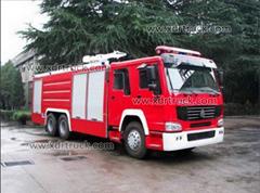12ton Steyr Water Fire Truck Euro2