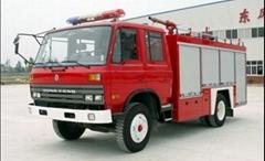 5ton Dongfeng Water Tank Fire Truck Euro2