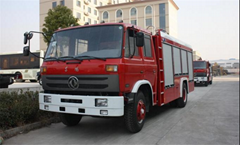 4ton Dongfeng 145 Water fire truck Euro3