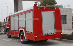 6ton Dongfeng EQ1141KJ 153 Water fire truck Euro3