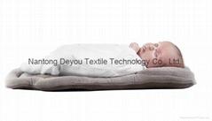 New Babymoov Cozymorpho Newborn + Infant Head & Body Support Pillow Spring Beige