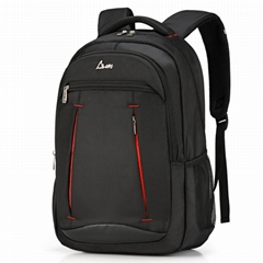 OEM Wholesale High Quality School Book Bag Laptop Compartment Backpack with Wate