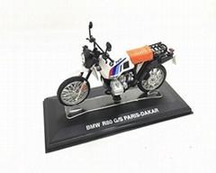 Zinc alloy mini motorcycle model maker