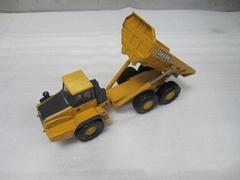 1:50 metal tip lorry model manufacture