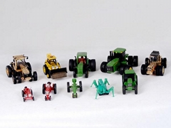 Production of zinc alloy agricultural vehicle model
