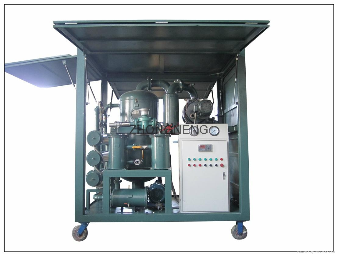 High Vacuum Transformer Oil Purifier Machine 1
