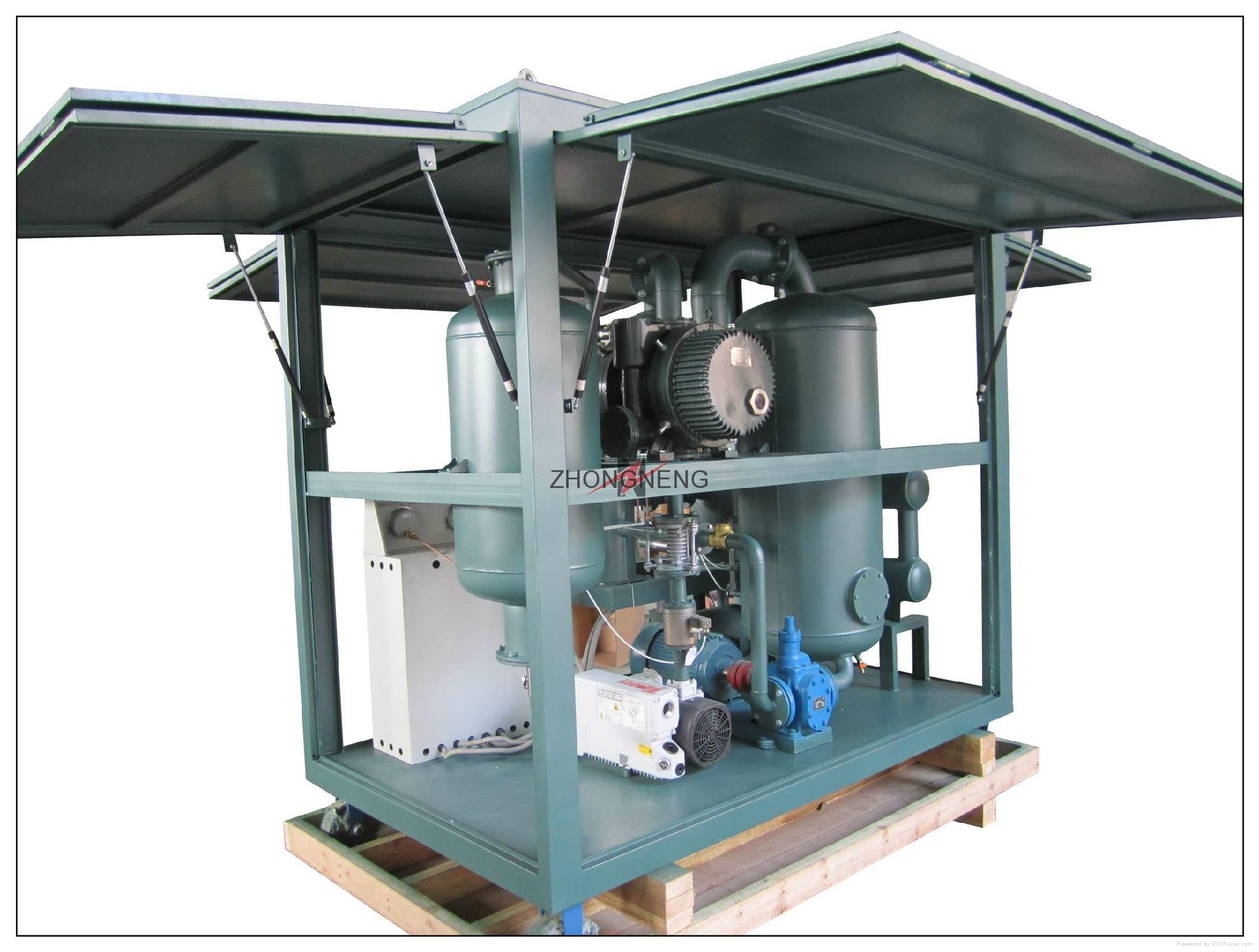 High Vacuum Transformer Oil Purifier Machine 4