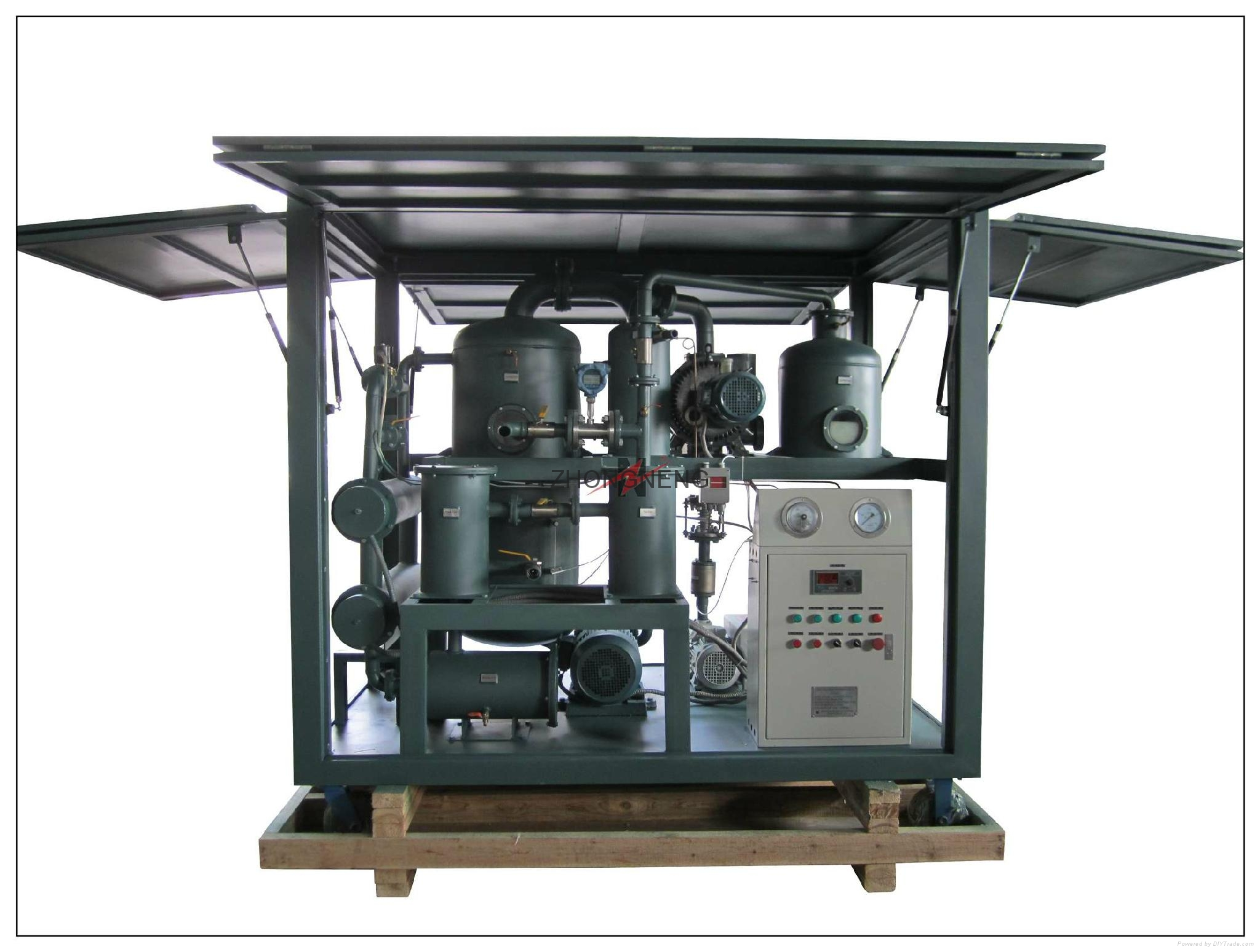 High Vacuum Transformer Oil Purifier Machine 5