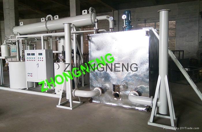 Used engine oil to diesel distillation machine 2