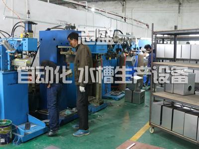 不鏽鋼手工水槽全套自動化生產設備生產工藝流程 4