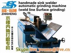手工水槽自动打磨机-手工盆打磨自动设备