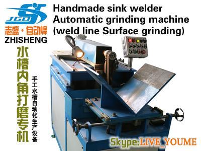 Handmade sink grinding machine
