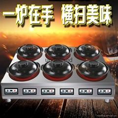 供應智能大功率商用煲仔飯機 電陶式煲仔爐 砂鍋米線 黃燜雞專用