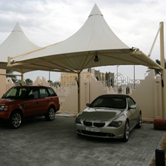 Aluminum out door car parking shed car parking shelters