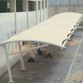 Portable car parking shed aluminum cantilliver Carport Shade for car parking-out