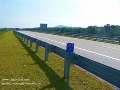 W-beam highway barrier ankara