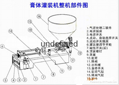 山东沃发机械供应卧式麻酱定量灌装机