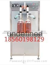 烟台大剂量双头立式润滑油灌装机