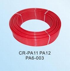 Red colour nylon hose PA12 PA6