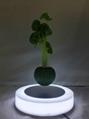 led light magnetic floating levitating air bonsai pot planter tree 0-500g 3