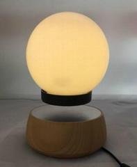 Hot sale rotating magnetic floating led lamp
