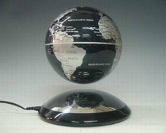 6 inch metal ufo base electronic levitation world globe