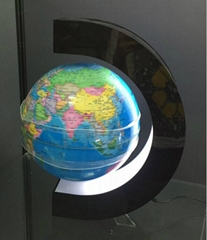 8inch c shape floating small toy globe for babies