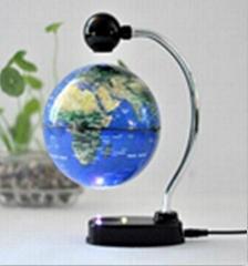 6 inch plastic levitation globe for desk decoration