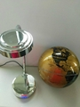8inch abs+stainless steel floating globe