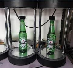 magnetic floating levitating pop wine bottle drink